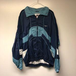 Vintage Nike Color block Windbreaker